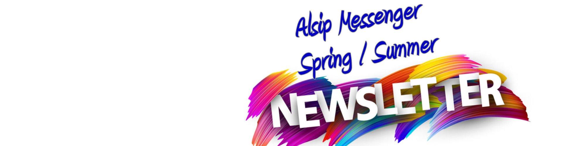 Alsip Spring / Summer Messenger Newsletter